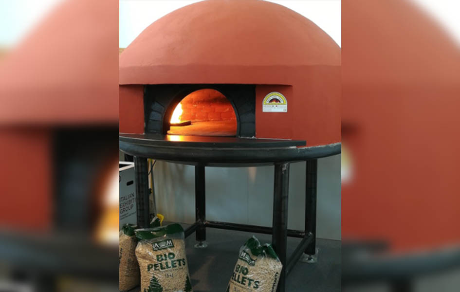 Forno professionale a pellet